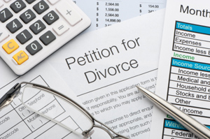Photo of divorce petition